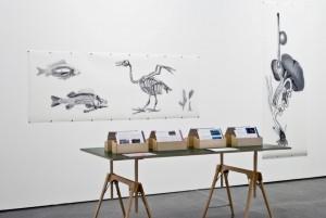 """Wie Phoenix aus der Asche, ..."" Anett Frontzek, 2014 Ausstellung ""Arche Noah"" im Museum Ostwall im Dortmunder U. 15.11.2014 – 12.04.2015"