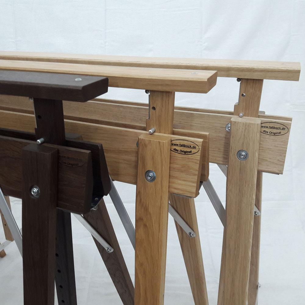 Tischbock in vielen designs und holzarten bei for Tischbock design