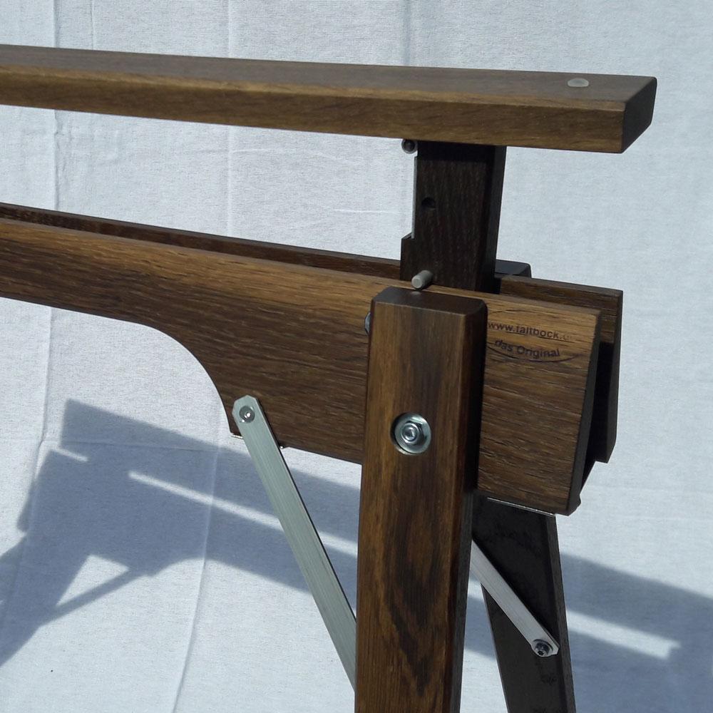 Tischbock Höhenverstellbar tischbock höhenverstellbar aus holz der faltbock